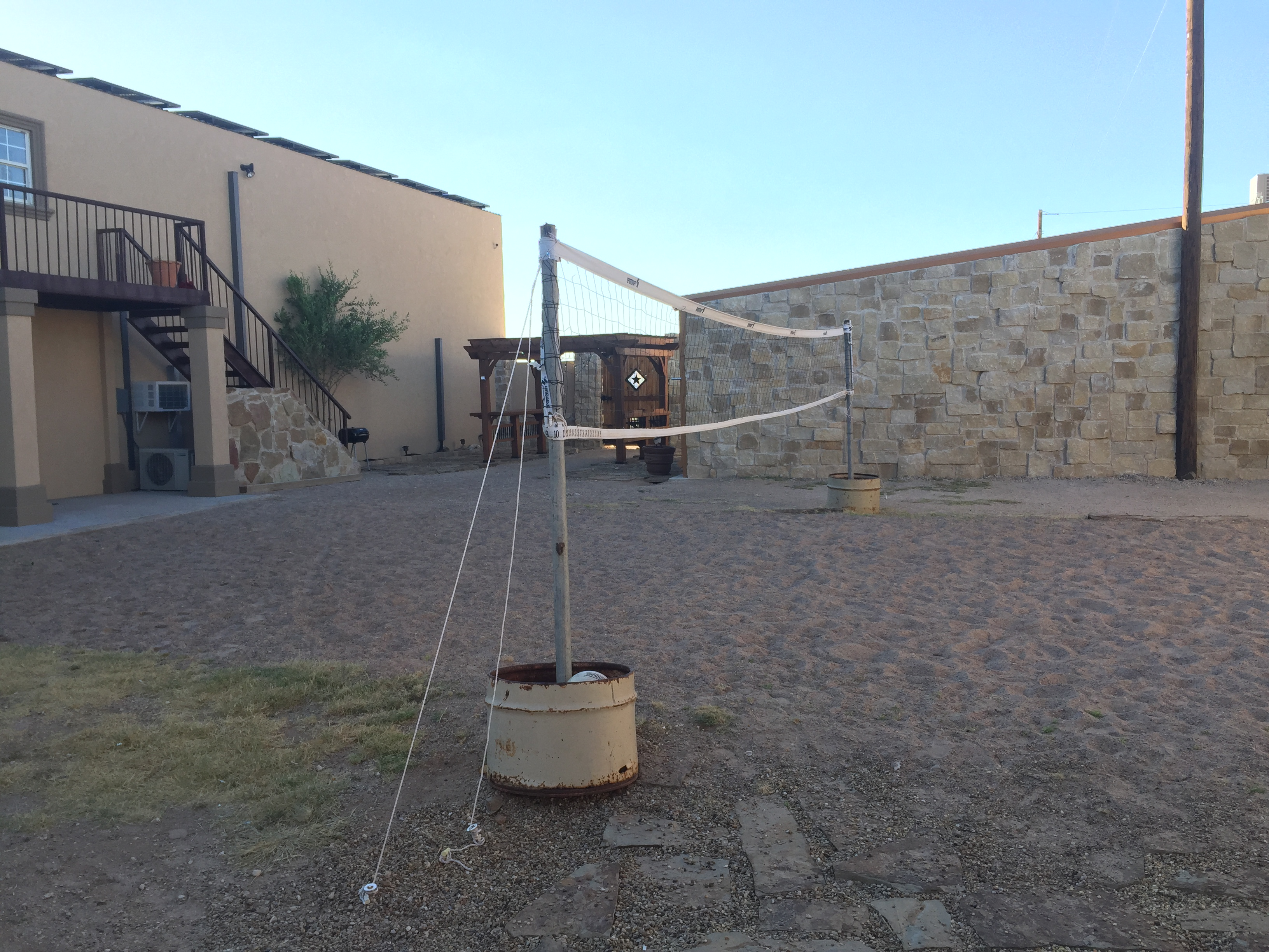 volleyball pit net